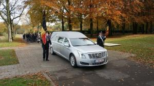 onze nieuwe Cadillac te Begraafplaats Schoonselhof